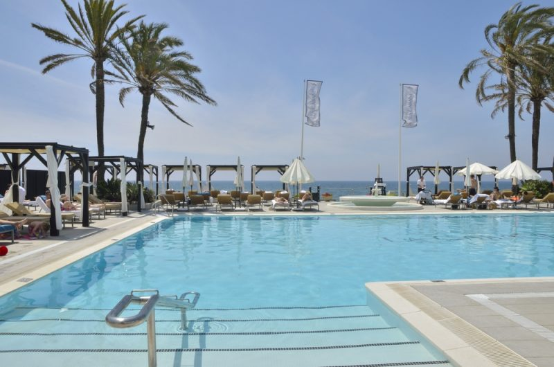 The Marbella Beach Clubs. In Marbella there are many beach clubs
