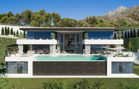 luxury property under construction in marbella